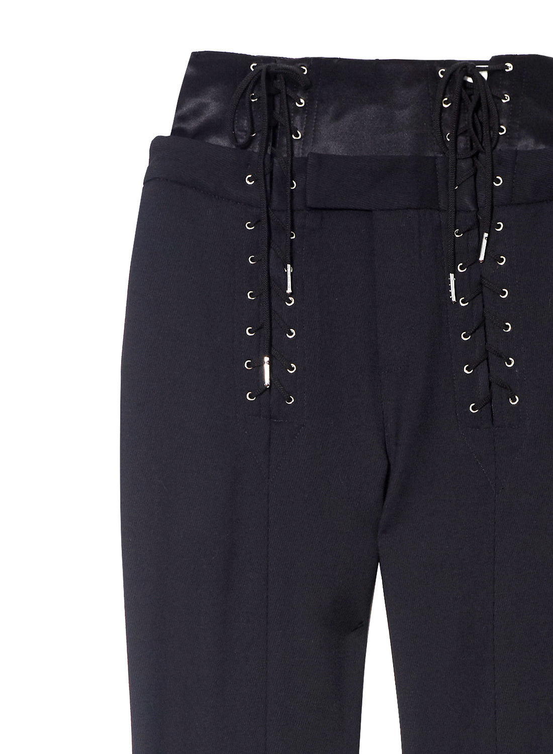 Corset Lace Up Pants