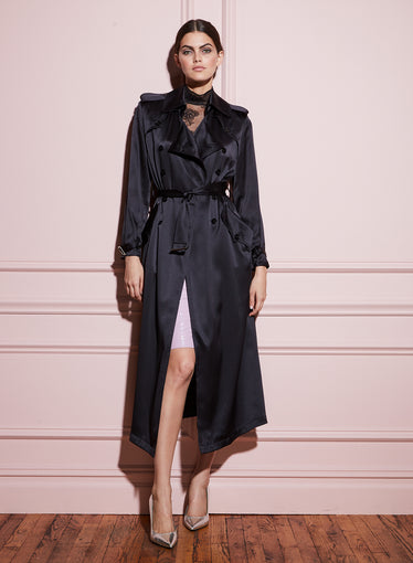 Satin Trench