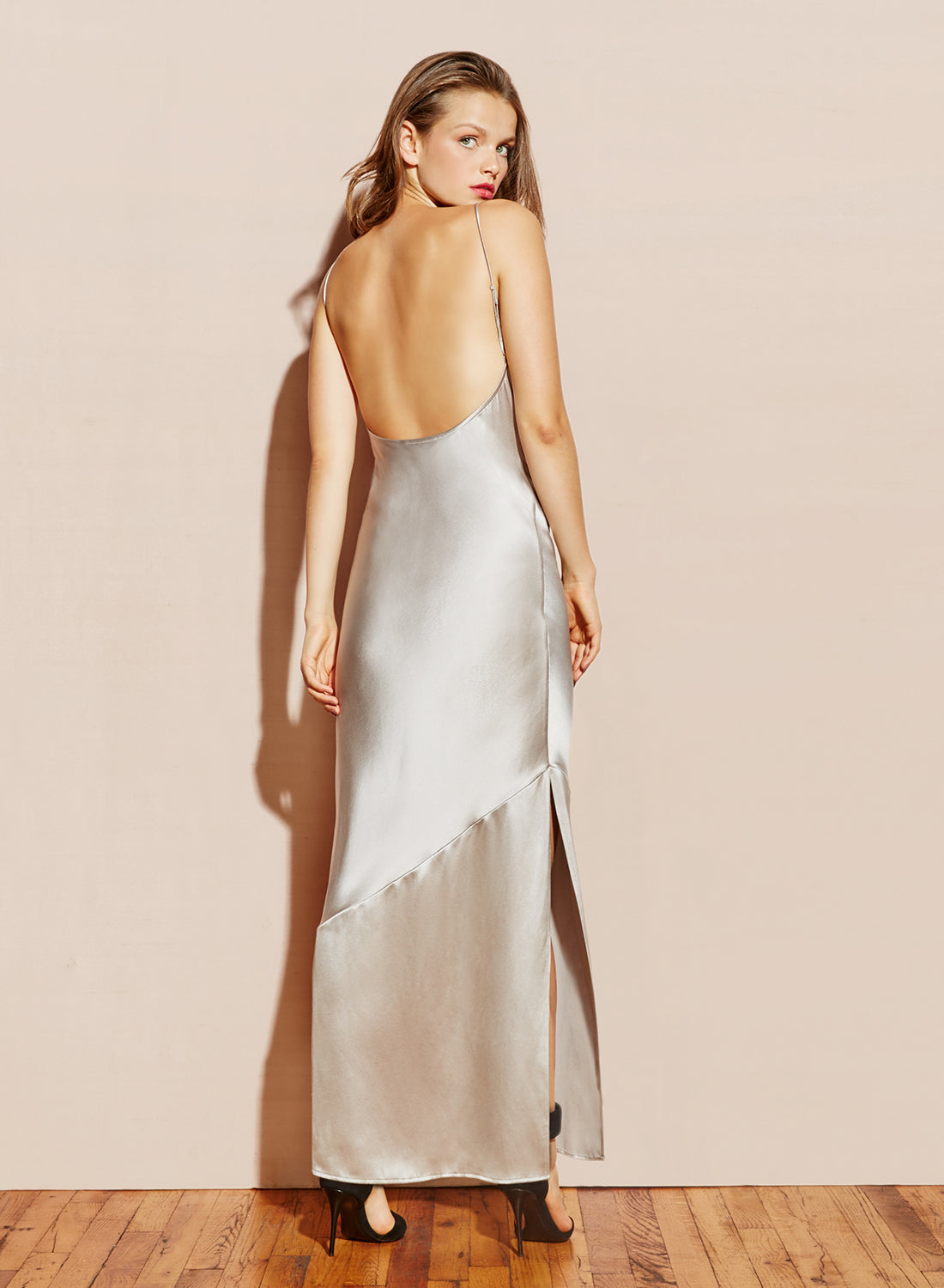 Silk Bias Gown