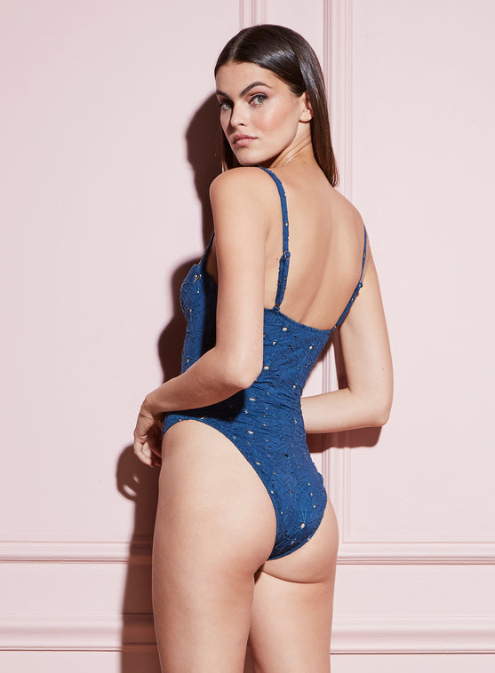 Cupped One Piece Swim