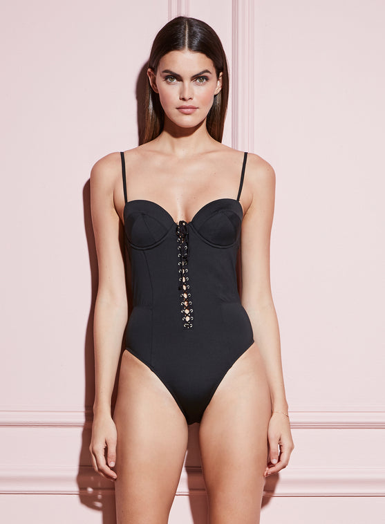 Lacing Bullet One Piece