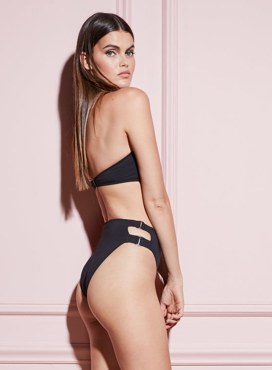 Cutout High Waist Bottom