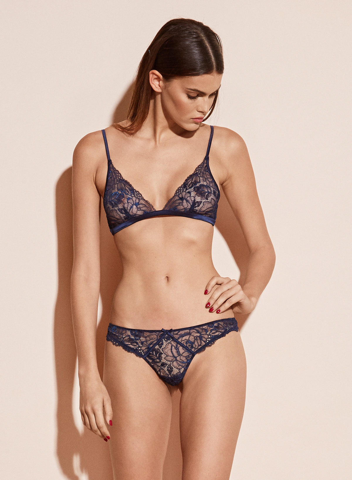 Chateau Lace Triangle Bra