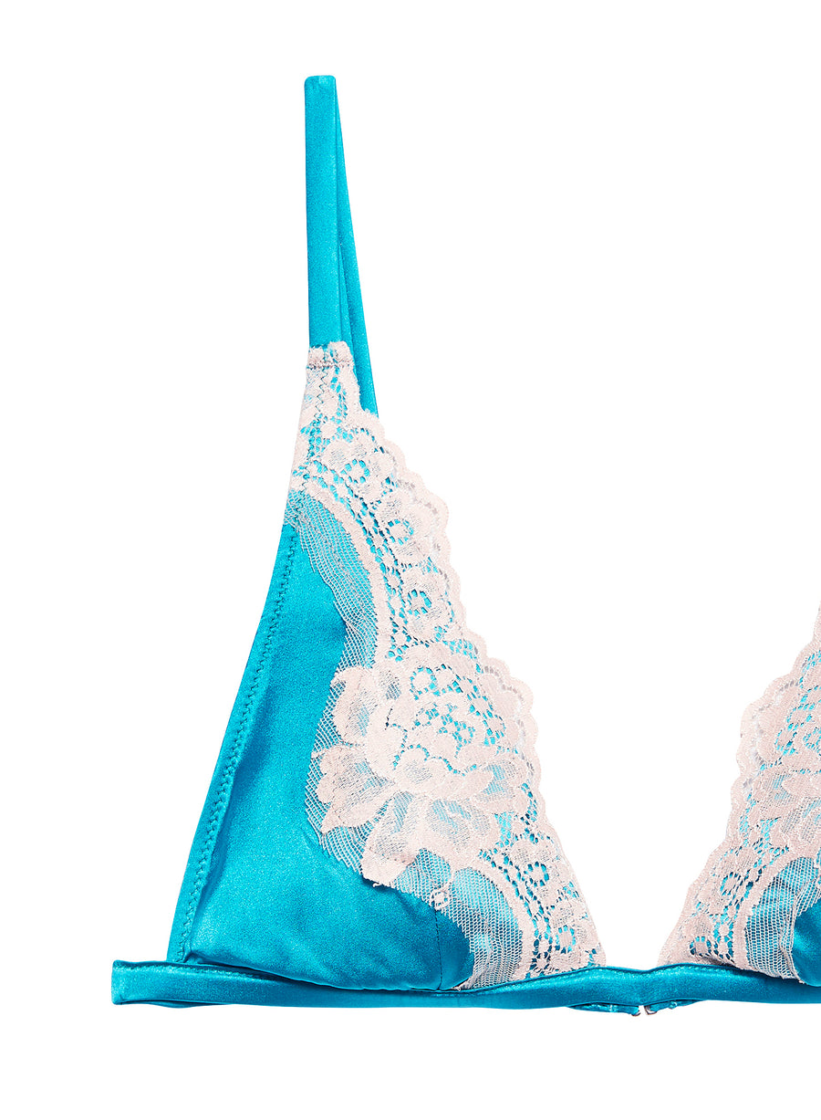 James Lace Padded Triangle Bra
