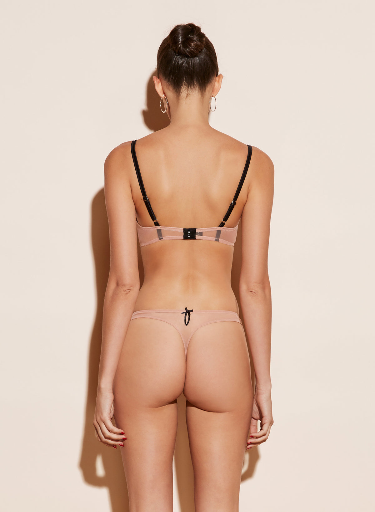 Enchanted Embroidery Thong