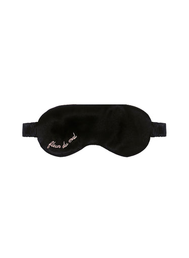 Logo Silk Eye Mask