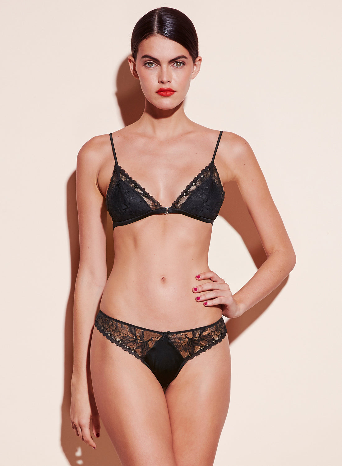 Gardenia Lace Triangle Bra