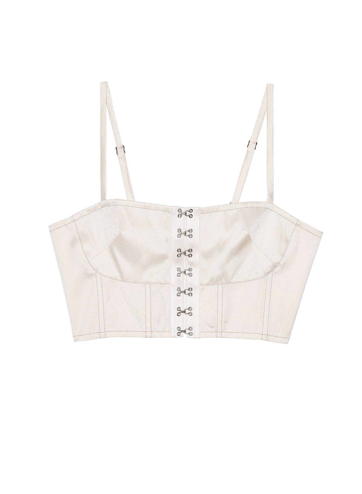 Hook & Eye Bustier Top