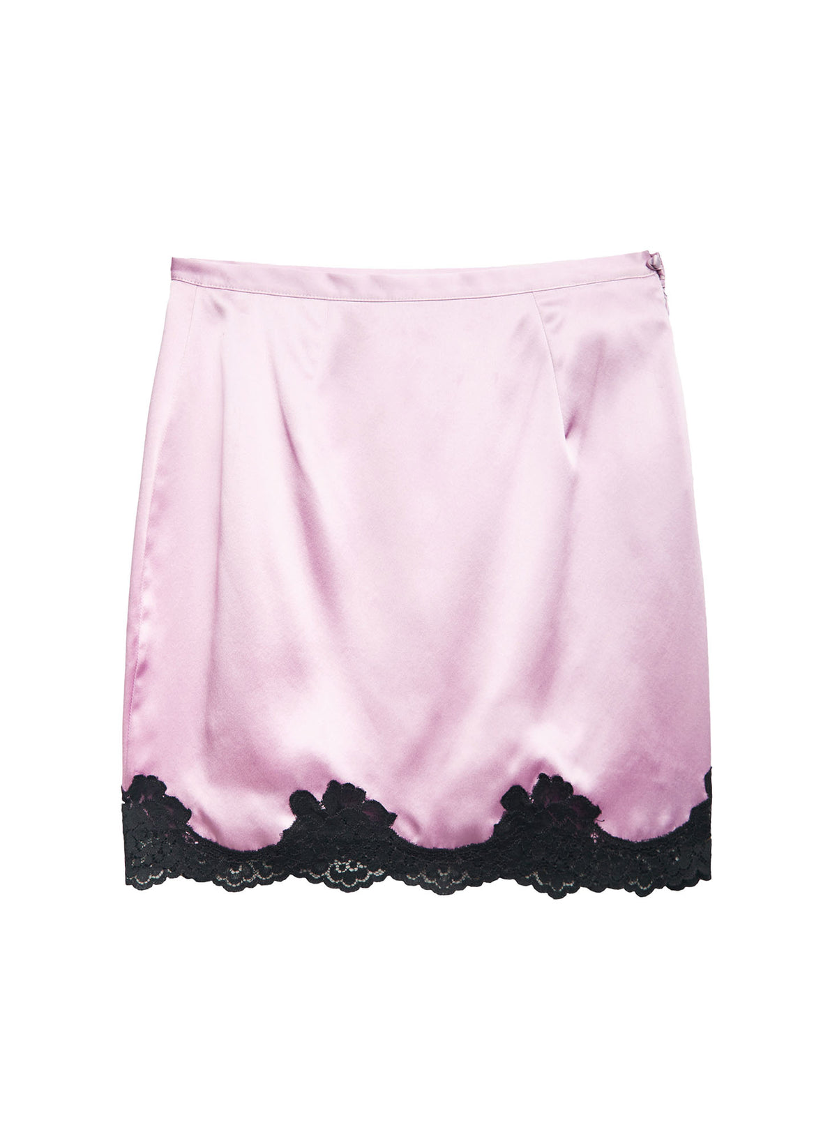 James Lace Slip Skirt