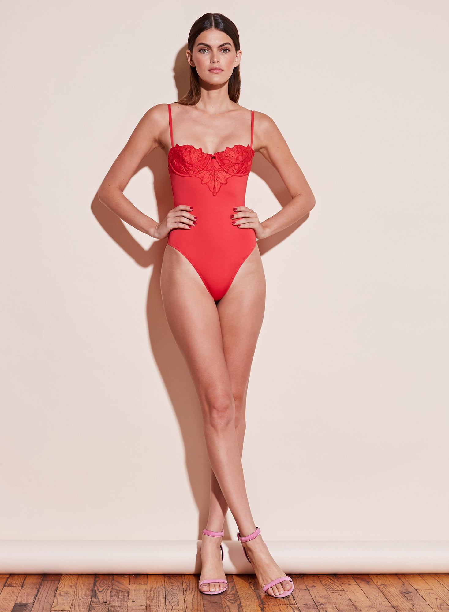 Lily Cupped One Piece Swimsuit