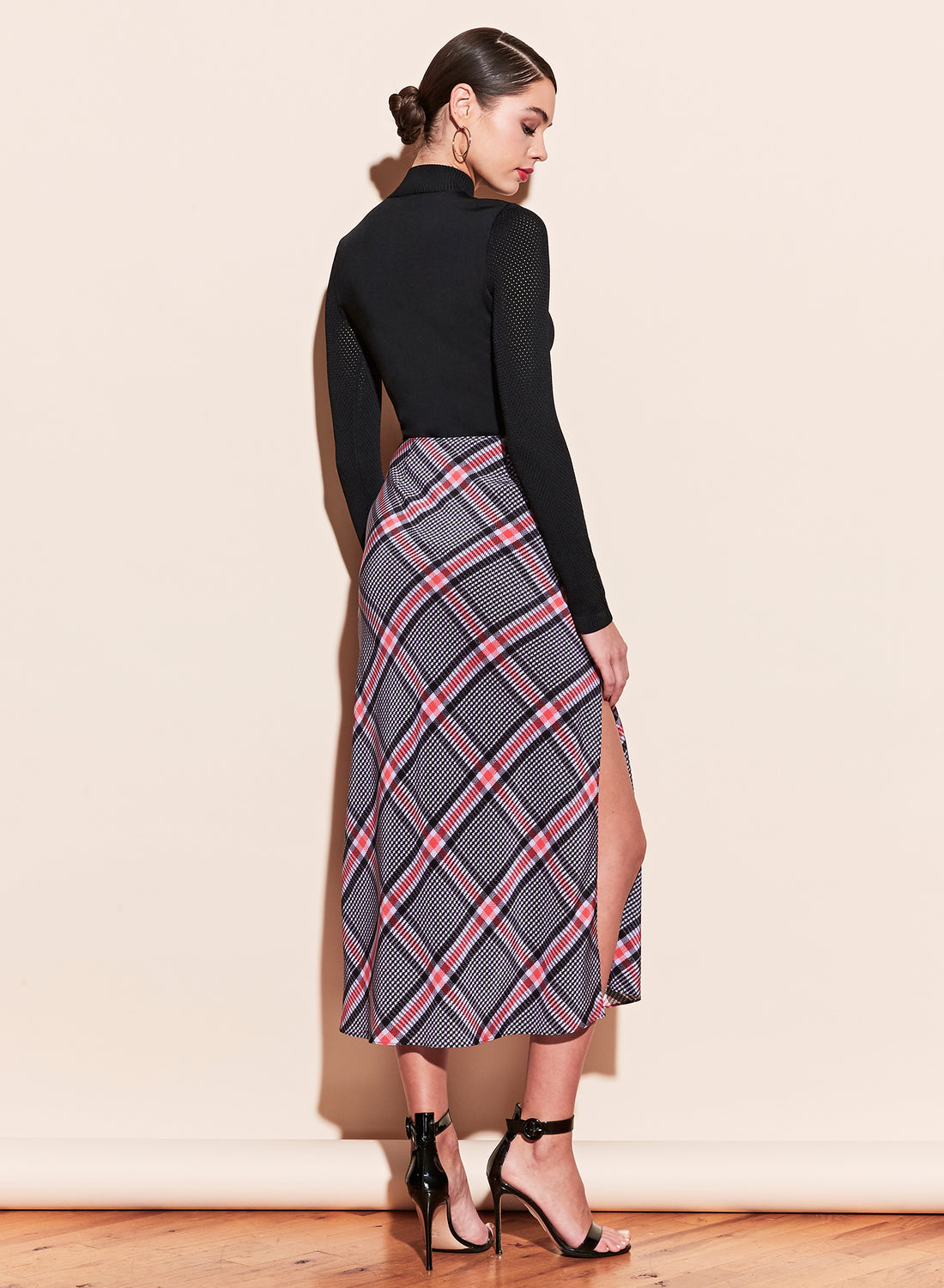 Midi Skirt With Slit