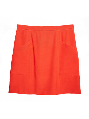 Mini Skirt with Patch Pocket