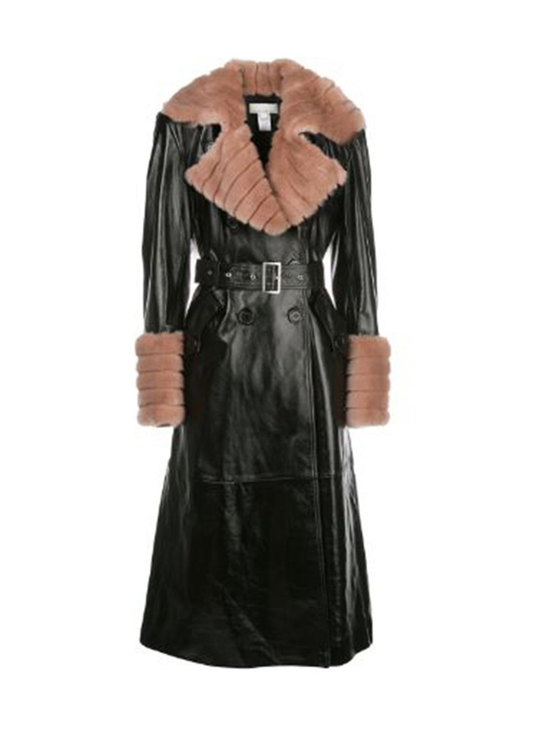 Patent Trench with Detachable Fur