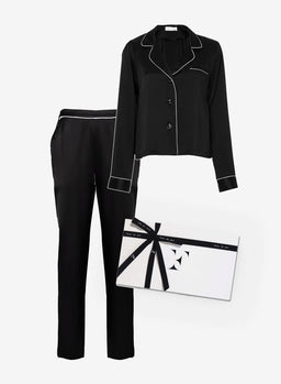Black PJ Gift Set