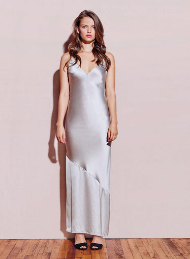 Silk Bias Slip Dress