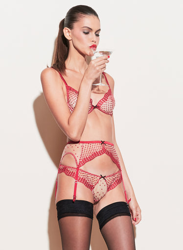 Dotty Garter Belt