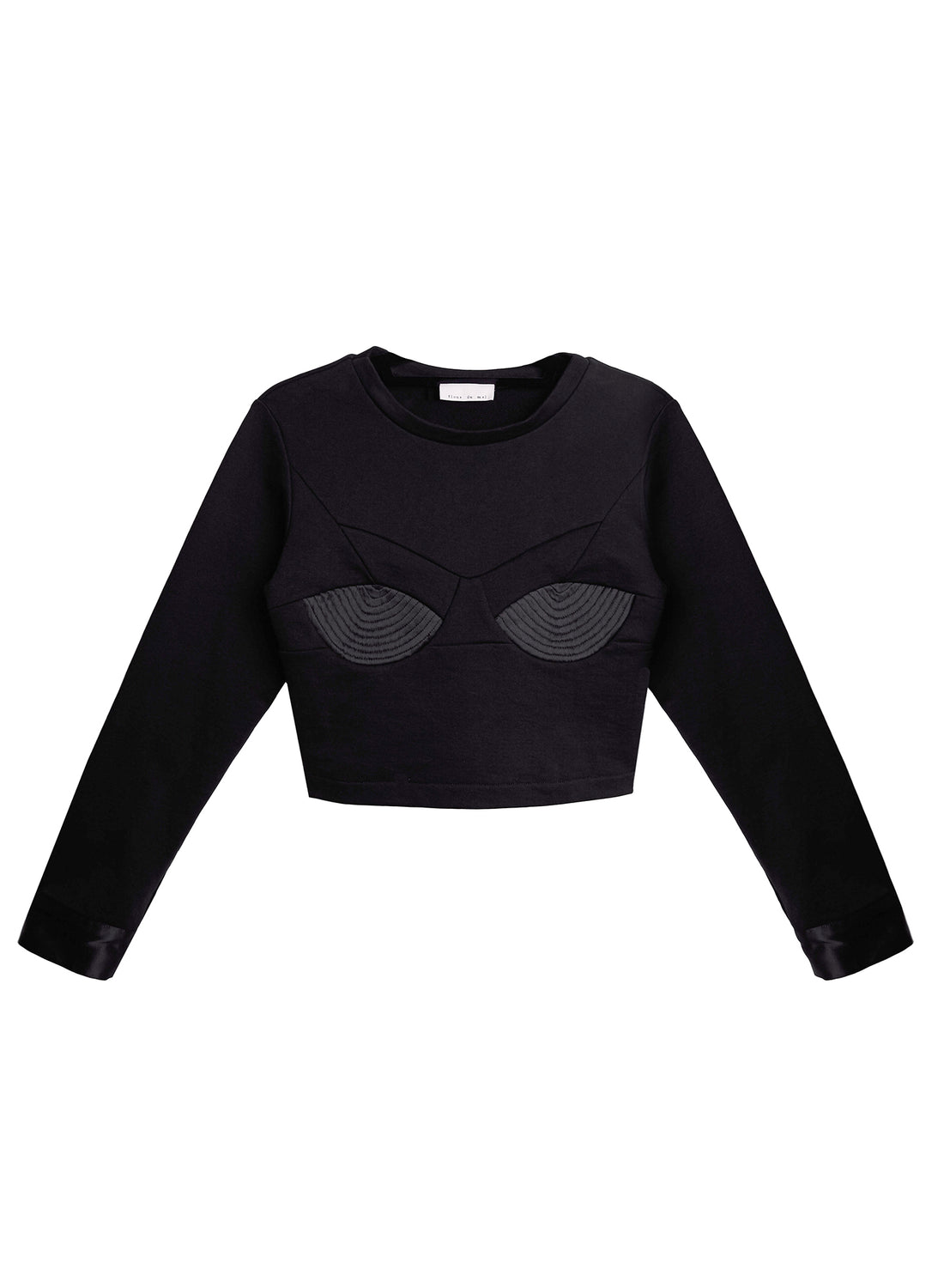 Top Stitch Bebe Sweatshirt