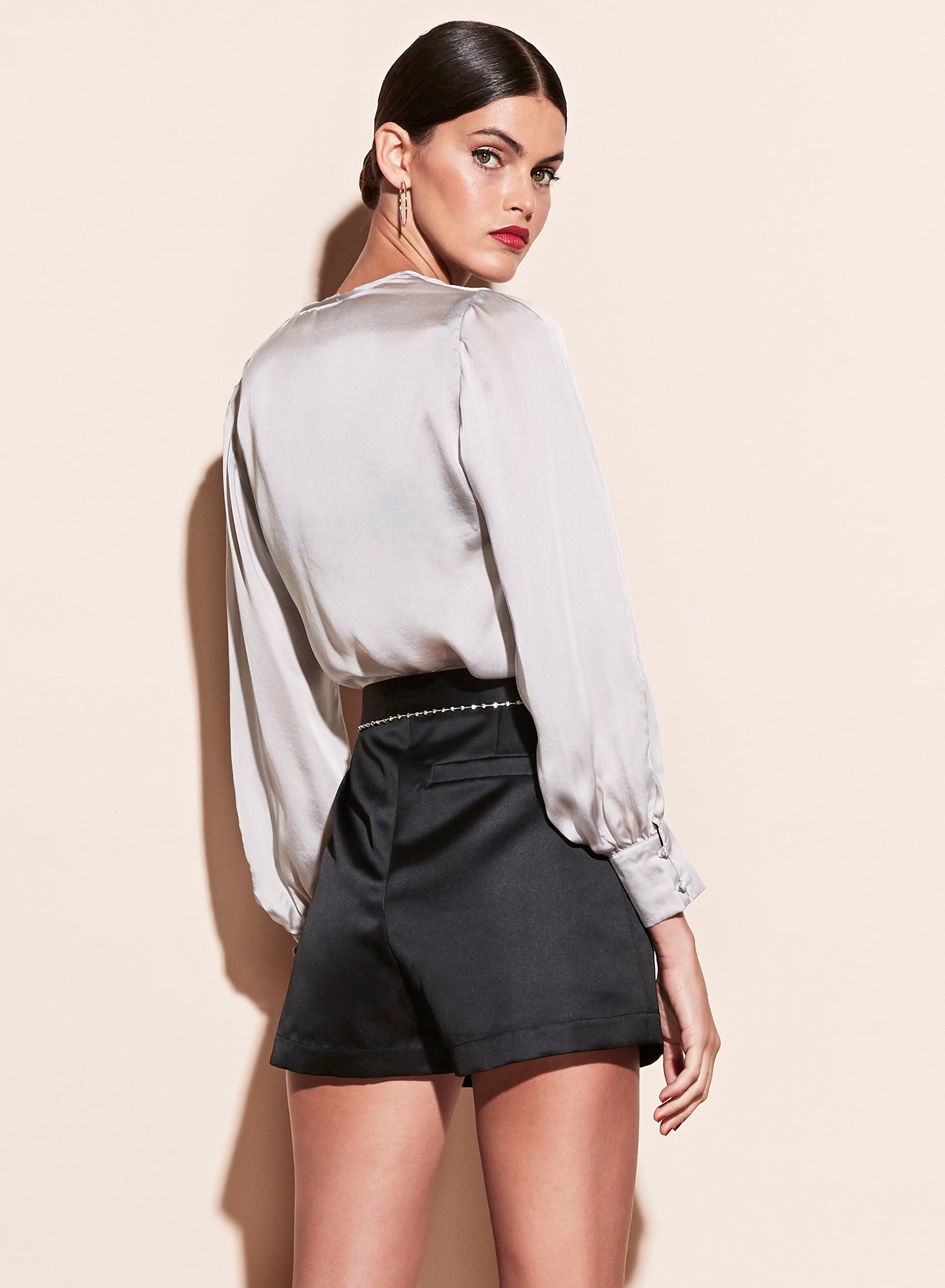 Wrap Blouse