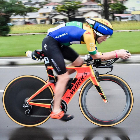 Tim Don smashing out a new IM record on his SHIV.
