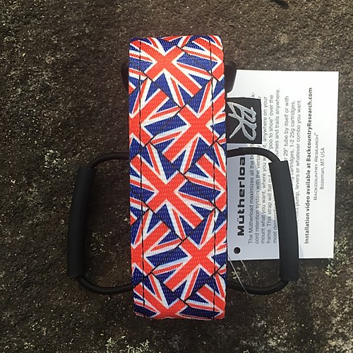 Backcountry Research Straps - Mutherload Magnum Strap BRITISH FLAG
