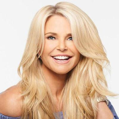 Christie Brinkley... Perfect Hair 2 Wear Extension | From Bikini to Black Tie Event!