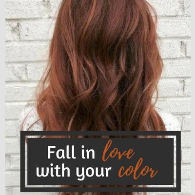 Fall in Love with your Color