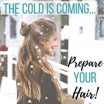 The Cold is Coming, Prepare your Hair!