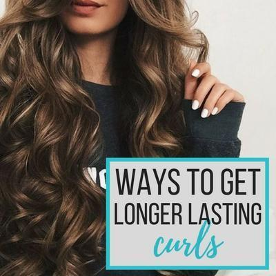 Ways to Get Longer Lasting Curls