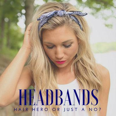 Headbands: hair hero or just a no?