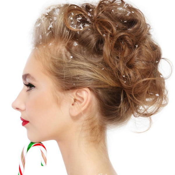 Wintery Wonderful Holiday Updos!
