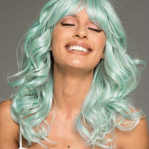Why We Love The Mint Color Wig Craze