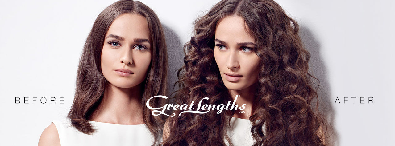 Great Lengths Before and After Hair Extensions