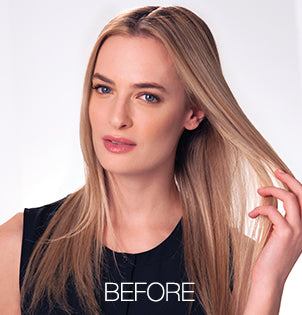 Before and After Photos - Great Lengths Extensions