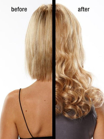 Curly Blonde Human Hair Extensions
