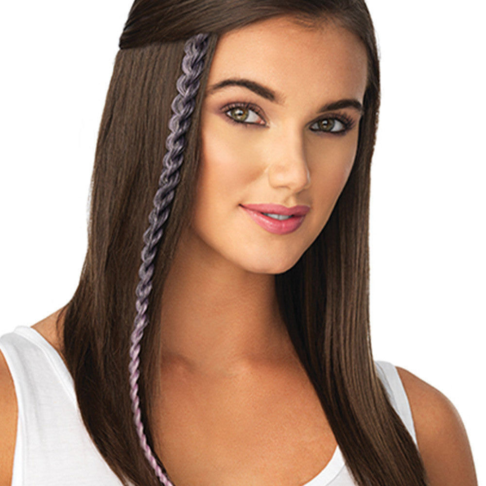 Metallic Braid Extension by POP by hairdo