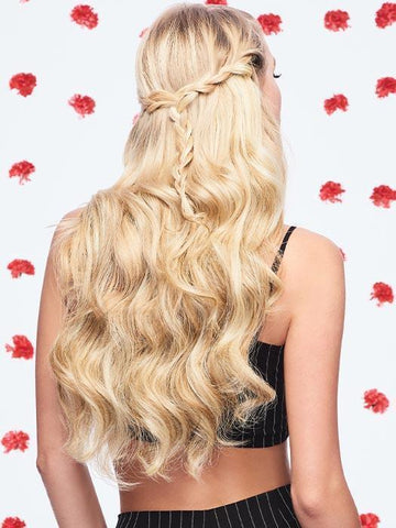 Long Blonde Clip In Hair Extensions