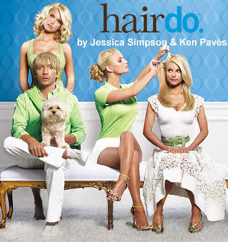 Hairdo Extensions By Jessica Simpson & Hair Stylist Ken Paves