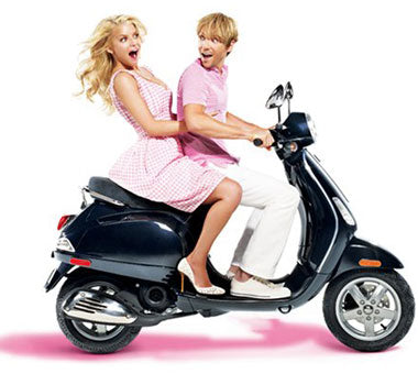 Ken Paves & Jessica Simpson | Hairdo Extensions Scooter Ad