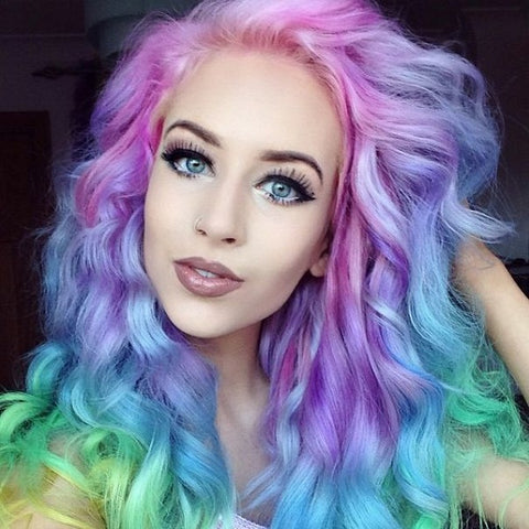 Hair to Dye For... New Color Trend For Hair Extensions or Wigs ...