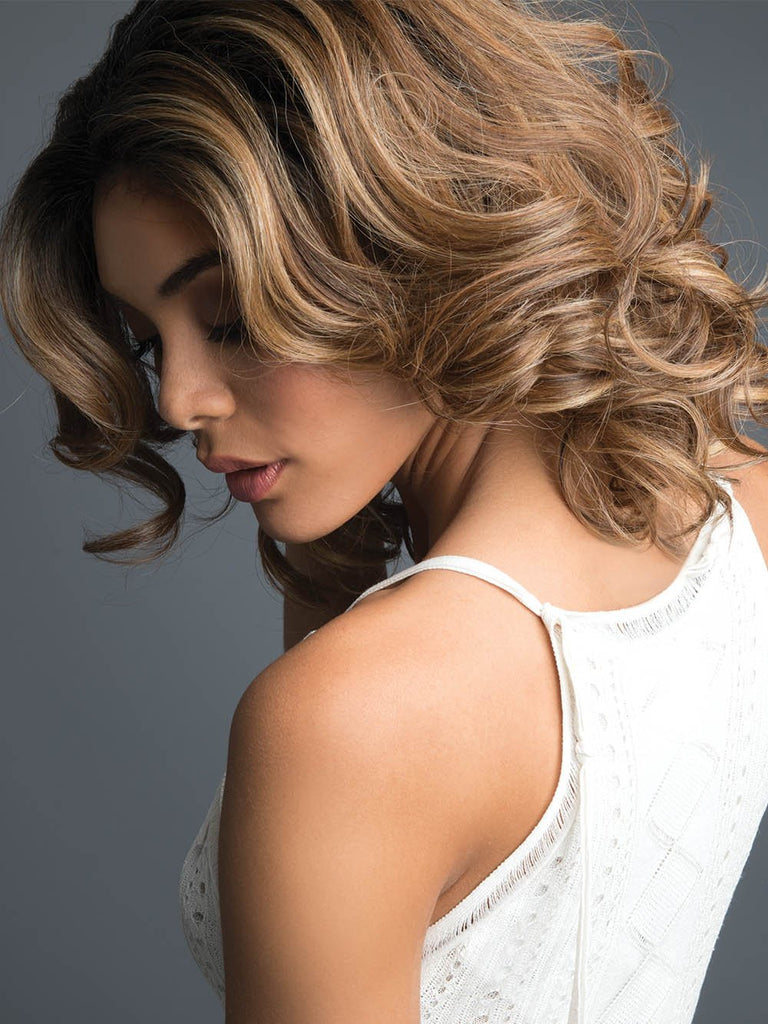 Passion By Revlon Colored Wavy Wig With Lace Front