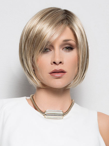 JUST Hair Topper by ELLEN WILLE in CHAMPAGNE MIX | Light Beige Blonde,  Medium Honey Blonde, and Platinum Blonde Blend