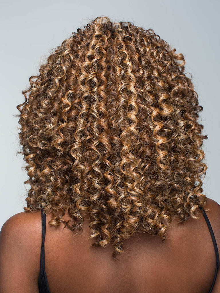 The Diva Lace Front Wig by Revlon features a new lace front for a seamless hairline and a monofilament part