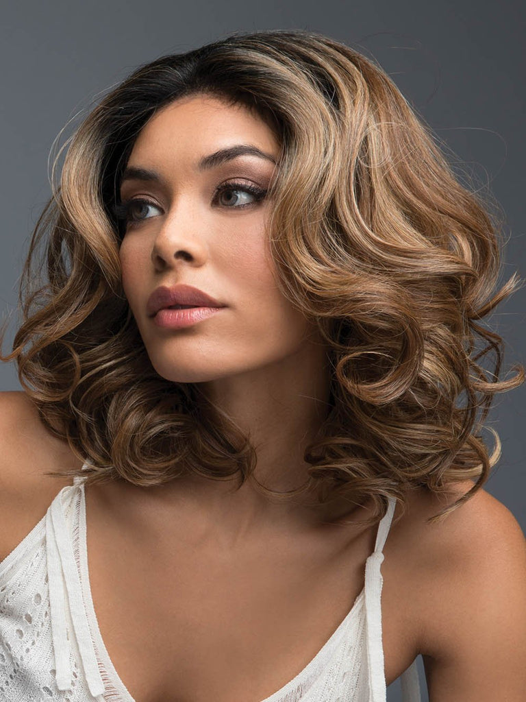 Colored Wavy Wig | PASSION by REVLON in MOLTEN AMBER
