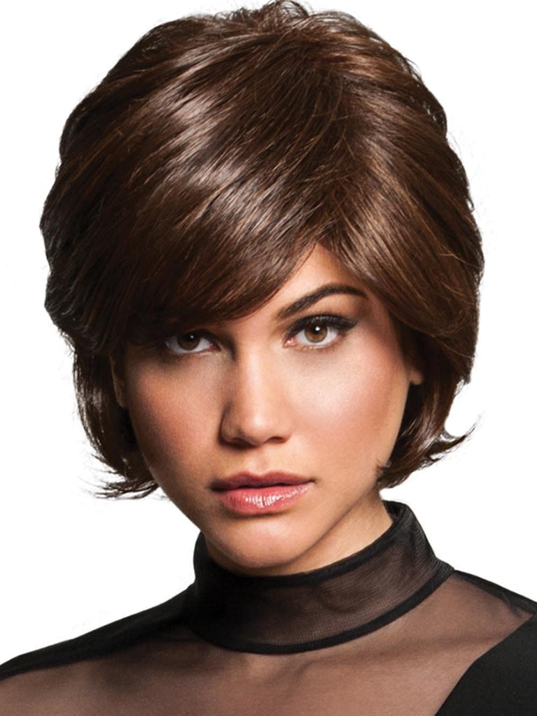 VINTAGE VOLUME by HAIRDO in R10 CHESTNUT | Rich Dark Brown with Coffee Brown highlights all over