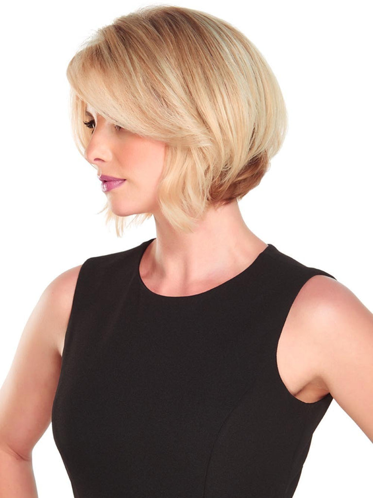 "The base size is 7.5"" and is ideal for adding volume, covering thinning at the part, or concealing new growth between colors"