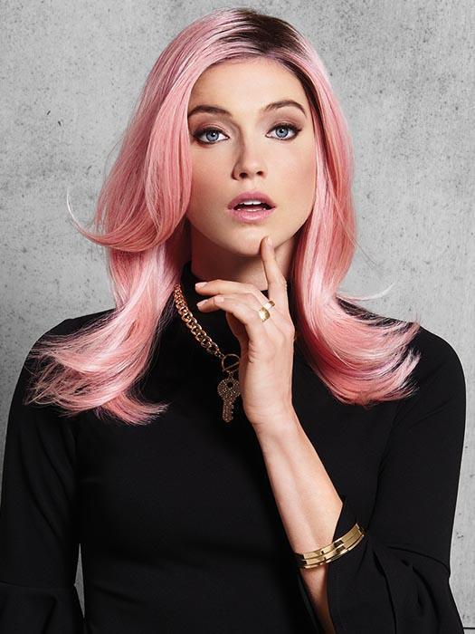 We can't promise you won't stand out with this pop of pink. These classic layers are anything but ordinary.
