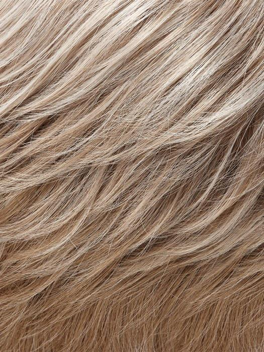 Color 101/48T = Soft White Front, Light Brown with 75% Grey Blend with Soft White Tips