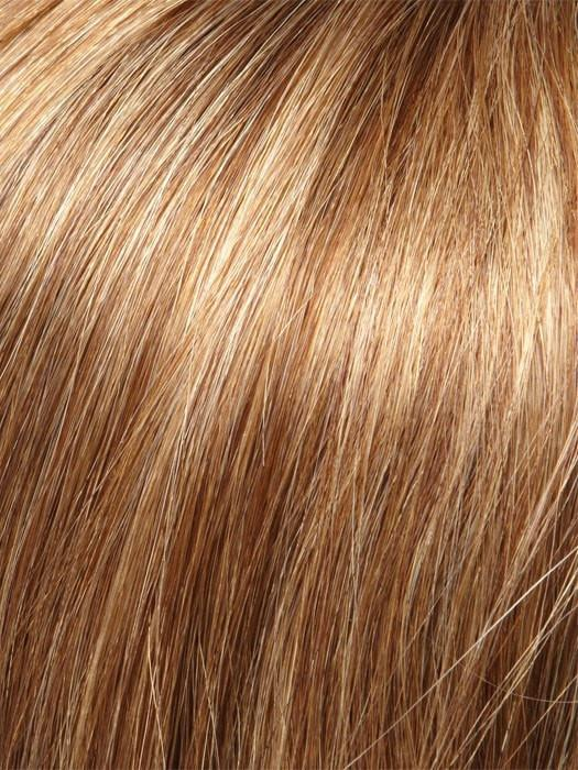 Color 10H24B = English Toffee: Light Brown w/ 20% Honey Blonde Highlights