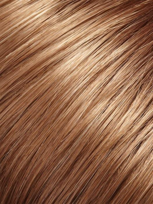Color 12/30BT = Rootbeer Float: Golden Brown & Med. Brown Red Blend w/ Med. Brown Red Tips