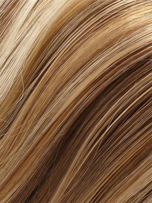 Color 12F = Blonde Pecan Praline: Light Gold Brown/Honey Blonde/Platinum Blonde Blend